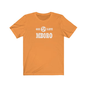 Genuine 615 Life/Neighborhood/MBORO/Stamp/Unisex Jersey Short Sleeve Tee