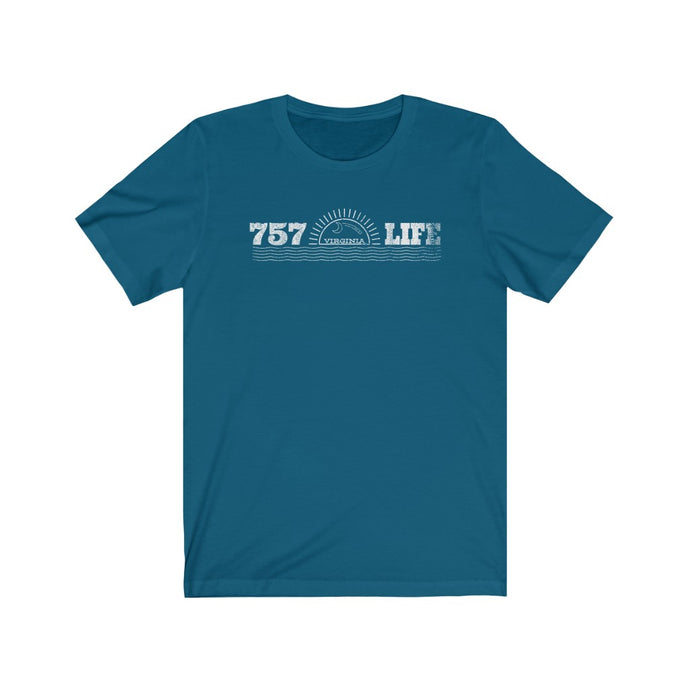 757 Life/Day Night/Unisex Jersey Short Sleeve Tee