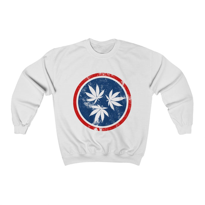 Genuine 615 Life/Hemp Logo/Color/Unisex Heavy Blend™ Crewneck Sweatshirt