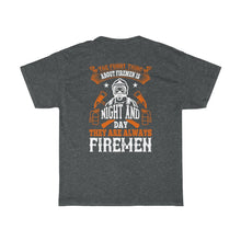 Load image into Gallery viewer, The Funny Thing/Firehouse Family/Back Print/Unisex Heavy Cotton Tee