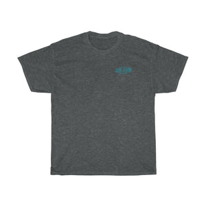 252 Life/Graveyard Shift/Teel Blue/Unisex Heavy Cotton Tee