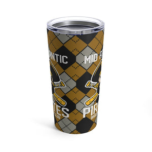 Mid Atlantic Pirates/Argyle/Tumbler 20oz