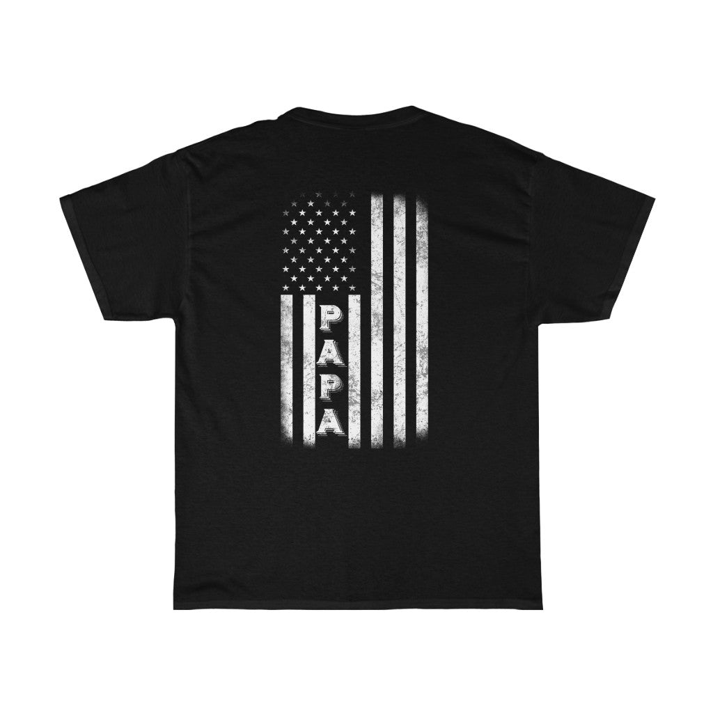 Papa Flag/Got Ya Dad/Unisex Heavy Cotton Tee