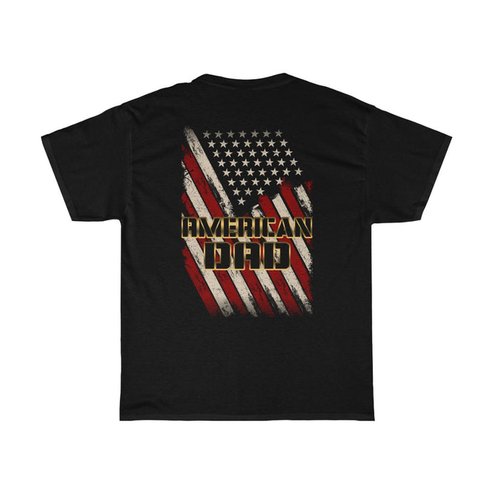 American Dad/Gold/Got Ya Dad/Unisex Heavy Cotton Tee