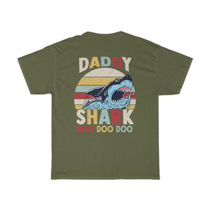 Daddy Shark/Got Ya Dad/Unisex Heavy Cotton Tee