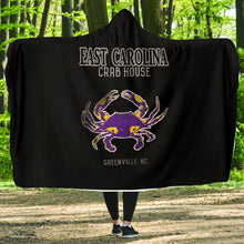 Load image into Gallery viewer, 252 Life/East Carolina/Crab House/Hoodie Blanket/OBX/Greenville/North Carolina