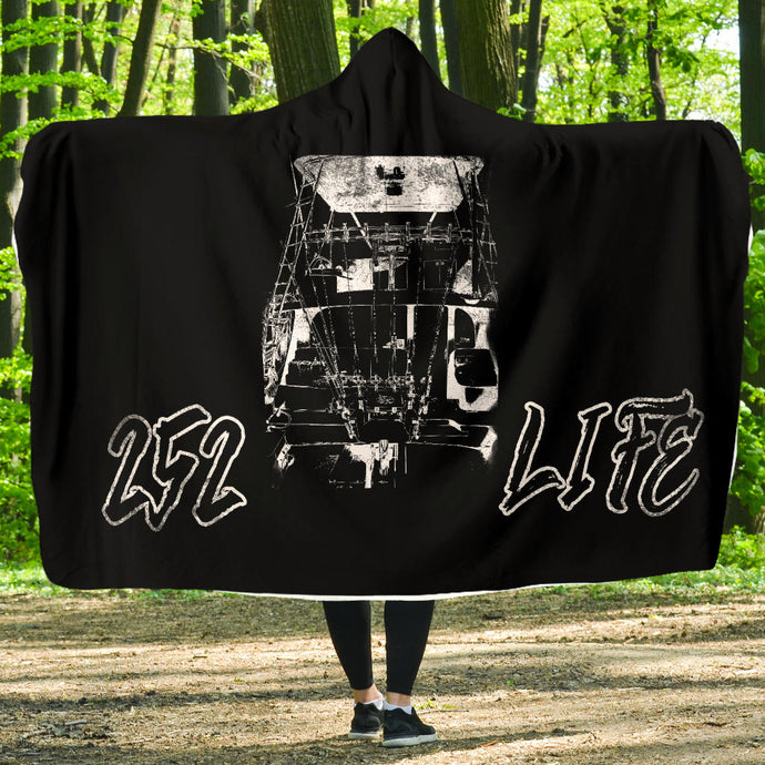 252 Life/Fighting Chair/Hoodie Blanket/OBX/Outer Banks/North Carolina