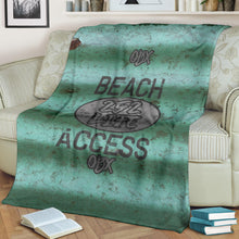 Load image into Gallery viewer, 252 Life/Square Blanket/Beach Access/Corrugated/Green