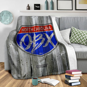 252 Life/Interstate OBX/Square Blanket/OBX/Outer Banks