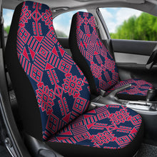 Load image into Gallery viewer, Mexican Pattern/101/Auto Seat Covers/Red/Blue/Atlanta