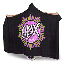Load image into Gallery viewer, OBX Spirit/SunCompass/Hoodie Blanket/Black/Pink/Green
