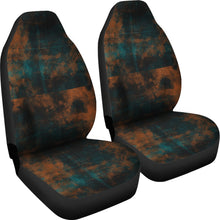Load image into Gallery viewer, Auto Seat Covers/Abstract Pattern/Miami/Florida/Orange/Teal