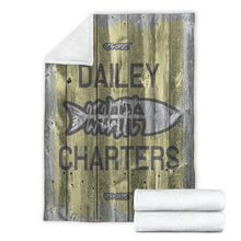Load image into Gallery viewer, 252 Life/Square Blanket/Dailey Charters/OBX Spirit/Yellow