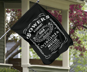 Flags/Bowers and Company Whiskey Label