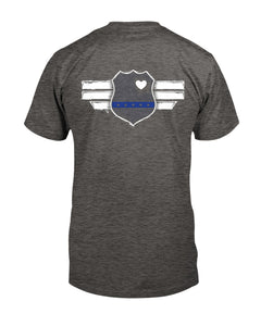 Blue Heart Badge/Spec Op Life/unisex t-shirt