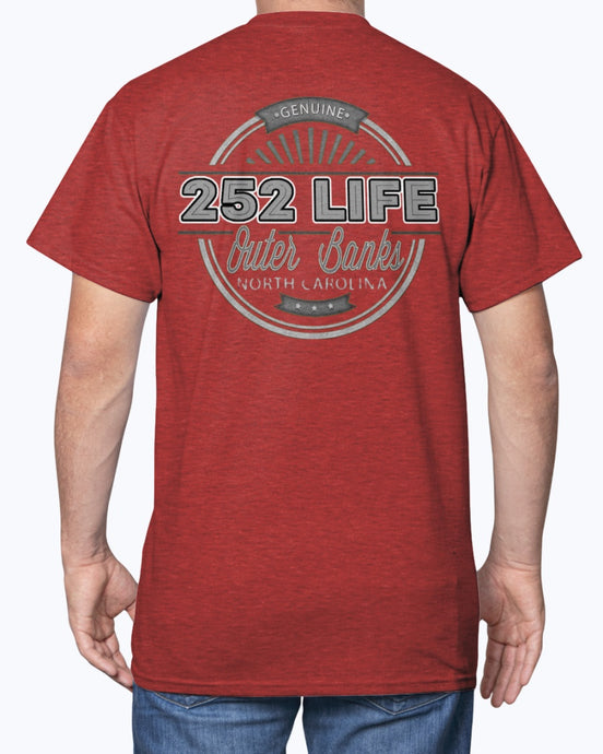 Genuine 252 Life/Insignia Cinco/ T-shirt/unisex