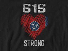 Load image into Gallery viewer, 615 Strong/Donation/Unisex Jersey Short Sleeve Tee