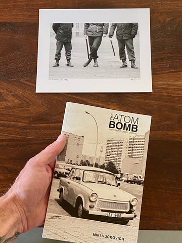 Miki Vuckovich: Book and Print Set. The Atom Bomb and Other Pleasant Dreams + 8x10 Black and White Print (St. Petersburg, Russia)