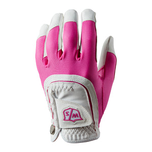 Dame -  Wilson Staff Fit All Golfhandske - Pink