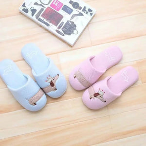 Dachshund Cute Home Slippers