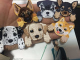 Dog Embroidered Clothing Patches
