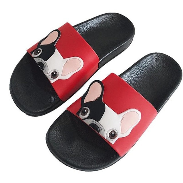 Frenchie Cute Home Slippers