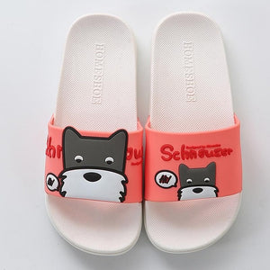 Schnauzer Cute Home Slippers