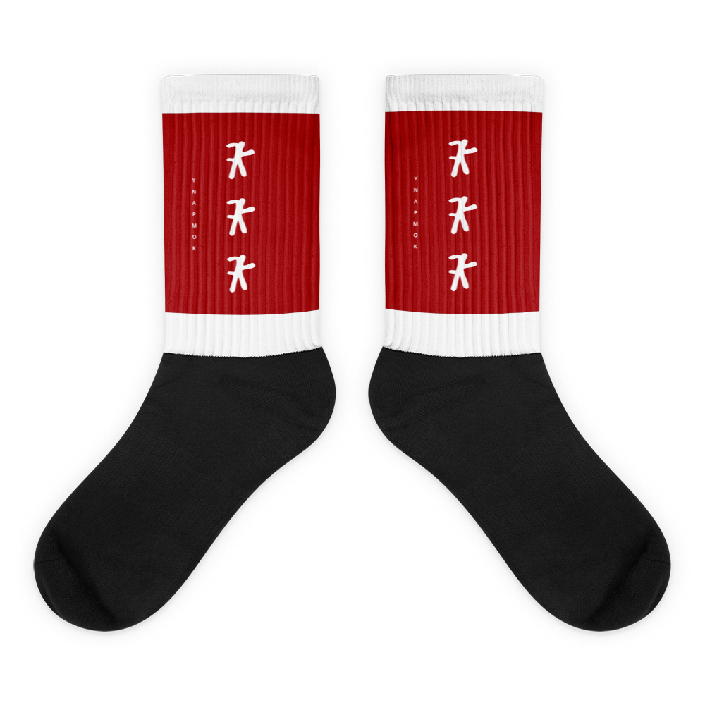 COKE RED LOGO SOCK