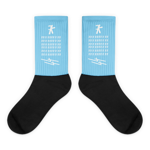 BLUE SKY LOGO SOCK