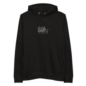 Aer and Ignis // Embroidered Hoodie