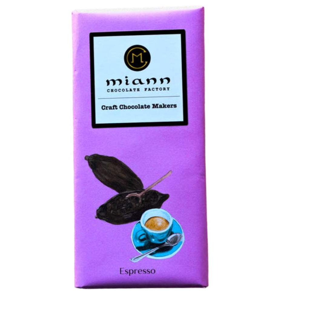 70% Dominican Republic Oko Caribe and Coffee - MiannChocolateFactory