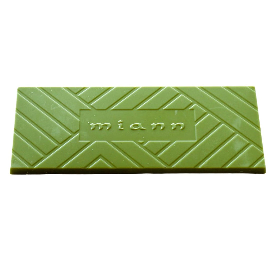 Matcha Green Tea and White chocolate bar - MiannChocolateFactory
