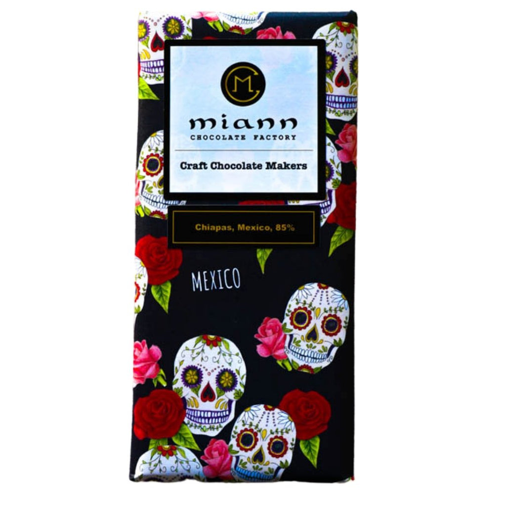 Mexico, Chiapas 85% Dark Chocolate Bar - MiannChocolateFactory