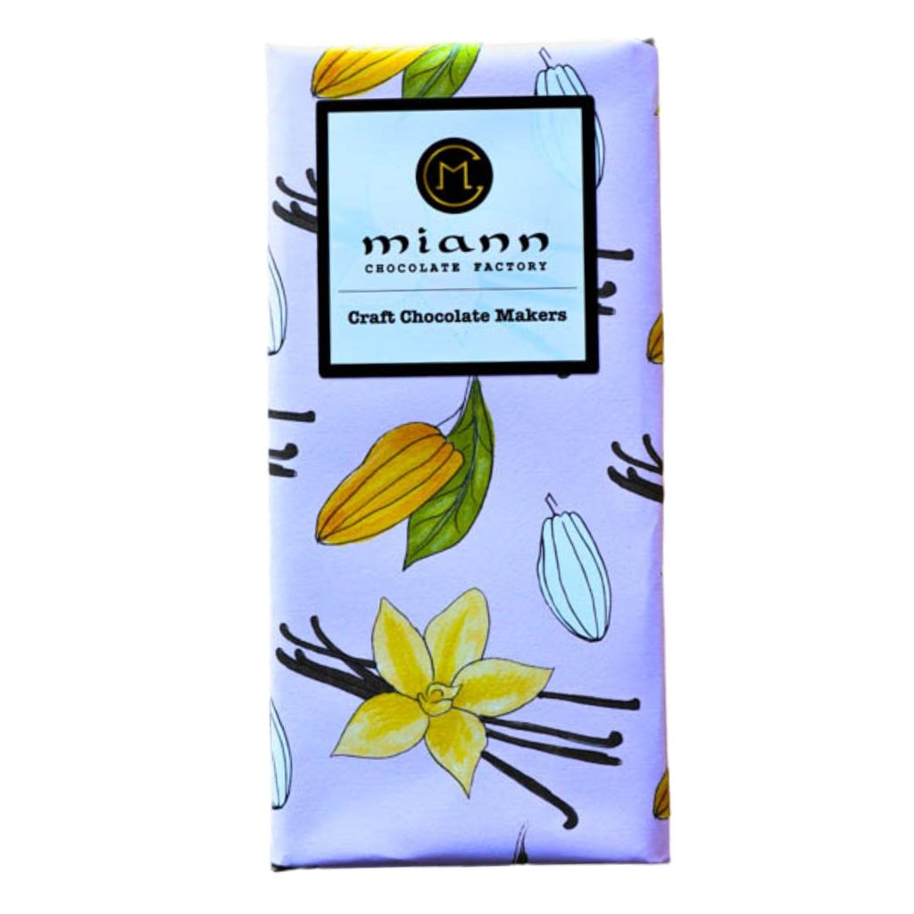 White Chocolate and Burnt Heilala Vanilla - MiannChocolateFactory