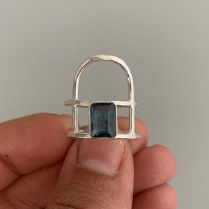 Teal Kyanite Ring #2