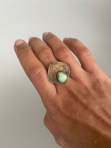 Indian Coin Ring #1