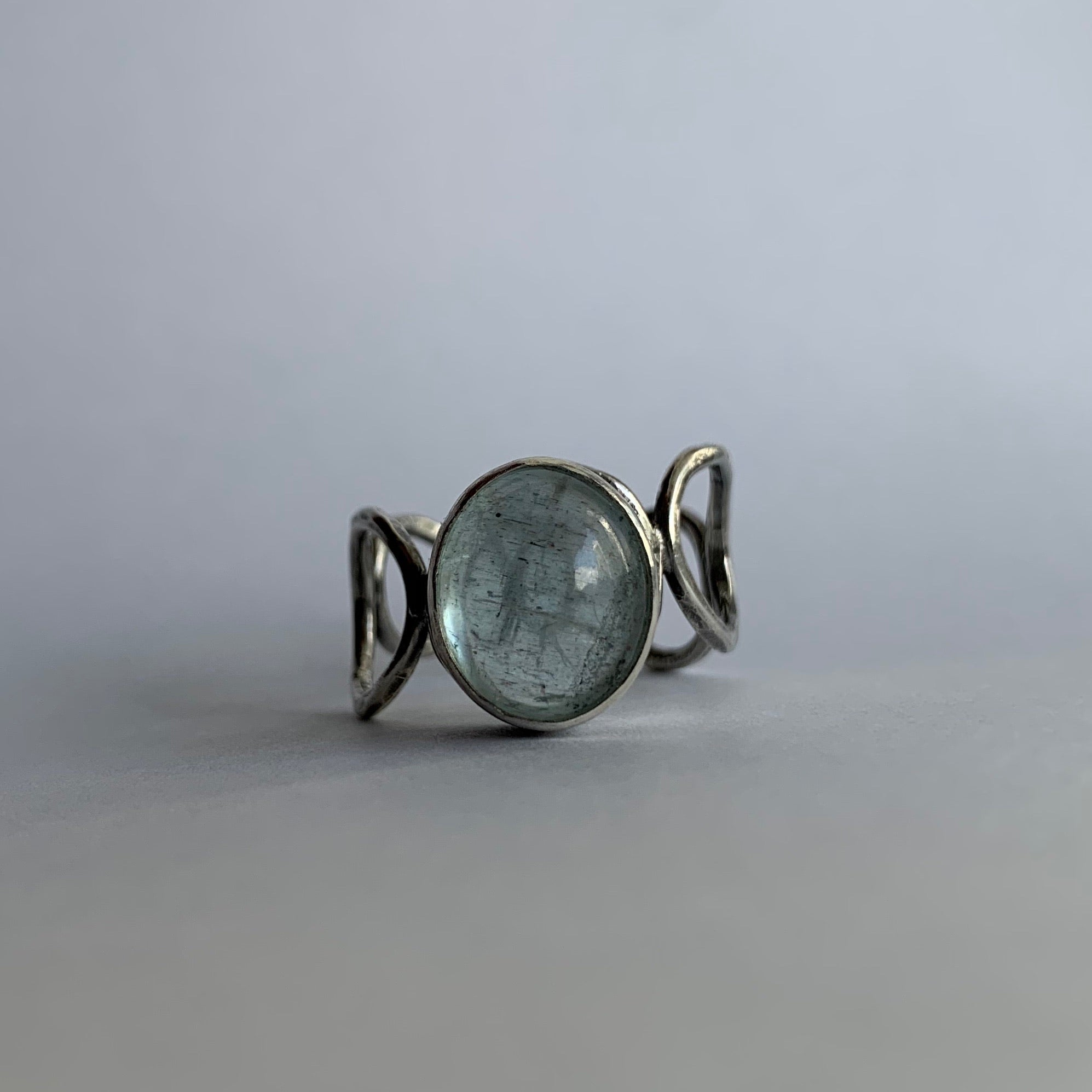 Moss Aquamarine Ring