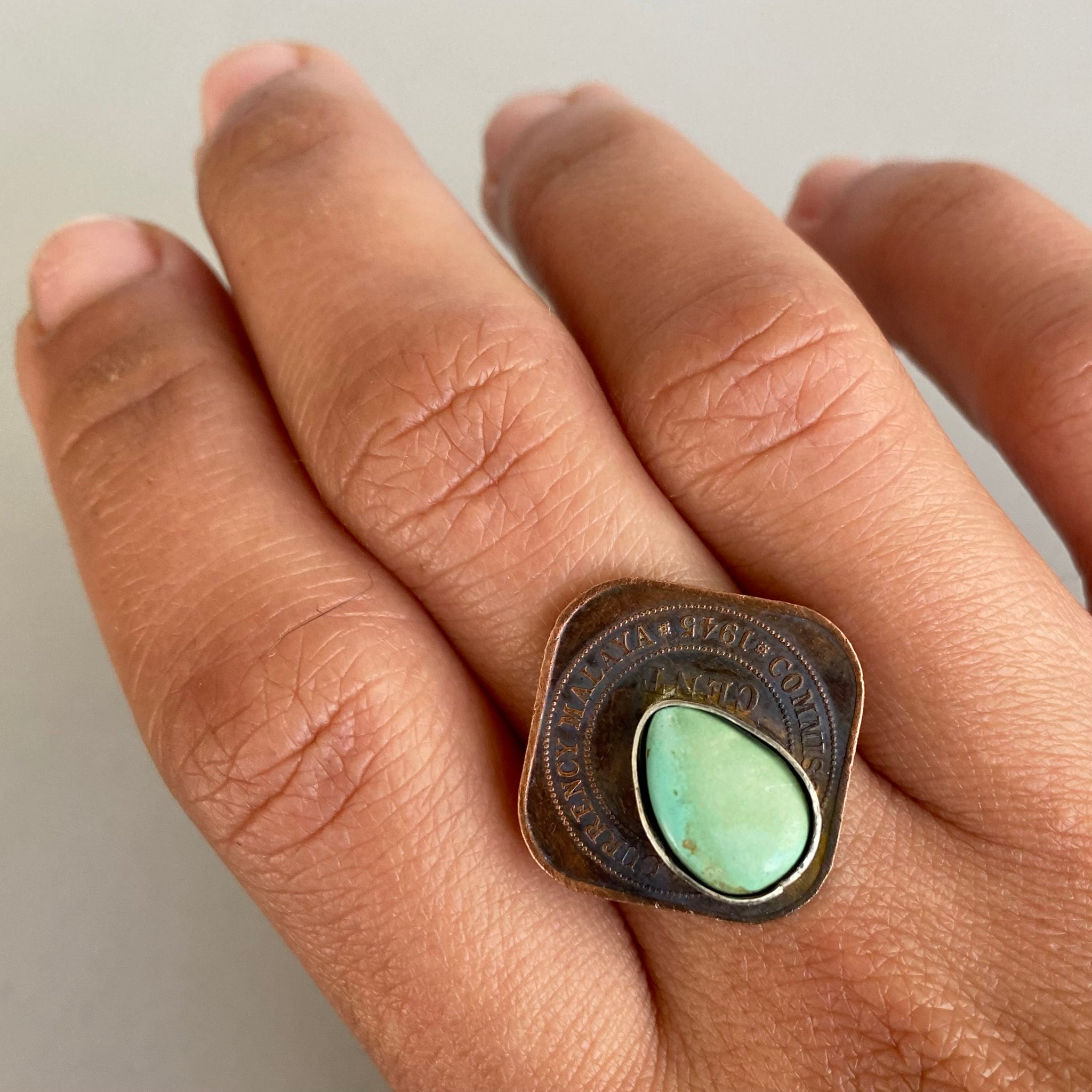 Malaya Coin Ring