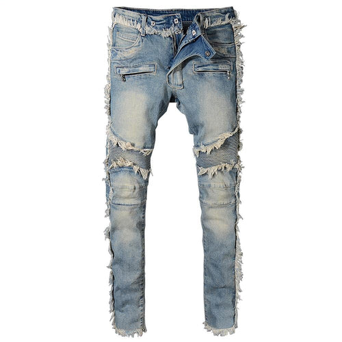 Frayed Denim - kantaloupe clothing