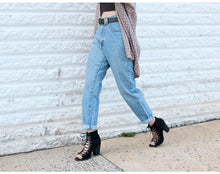 Load image into Gallery viewer, Women's Vintage Boyfriend Jeans - kantaloupe clothing