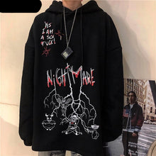 Load image into Gallery viewer, Nightmare Hoodie - kantaloupe clothing