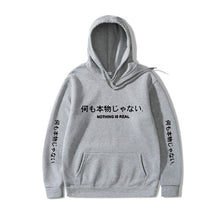 Load image into Gallery viewer, NOTHING IS REAL Pullover Hoodie - kantaloupe clothing