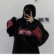 Load image into Gallery viewer, Gothboi Bonfire Hoodie - kantaloupe clothing