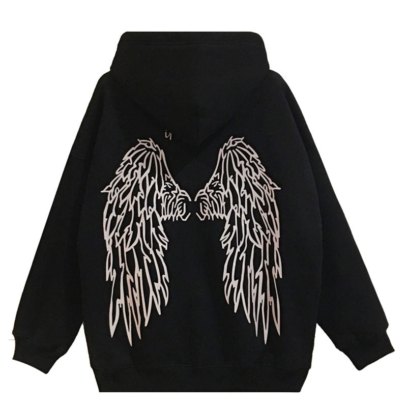 Glowing Angel Hoodie - kantaloupe clothing