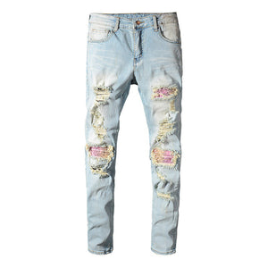 Wild West Bandana Denim - kantaloupe clothing