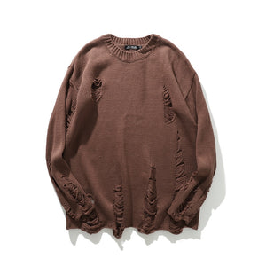 Classic Ragged Sweater - kantaloupe clothing