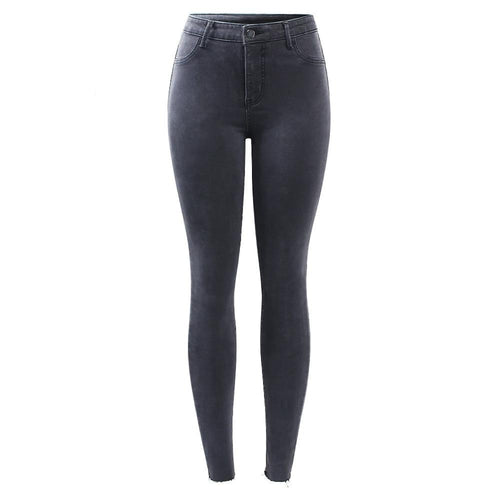 Women's Charcoal Skinnies - kantaloupe clothing