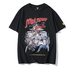 Mad Monkey Kung Fu Tee - kantaloupe clothing