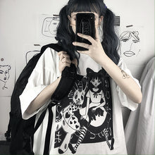 Load image into Gallery viewer, Goth Bunny Tee - kantaloupe clothing