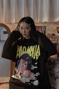 INSOMNIA Long Sleeve Tee - kantaloupe clothing